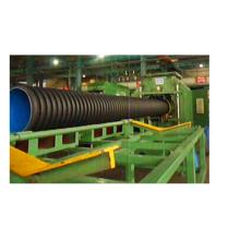 Extrudeuse de tuyaux ondulés à double paroi PE