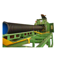 PE Double-Wall Corrugated Pipe Extruder