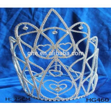 Toda la temporada de rendimiento de la fábrica directamente corona tiara y scepter