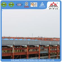 Collapsible ready made CE&BV&TUV certificated prefab steel building