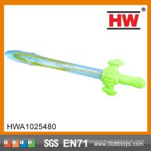 Alta calidad 38CM Espada colorida de la burbuja del agua de la burbuja de jabón