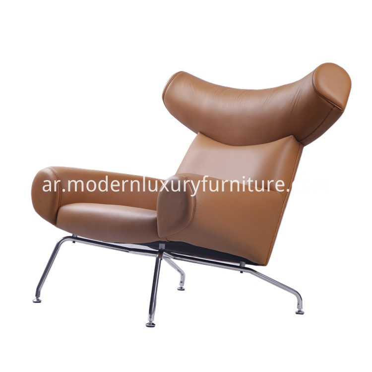 leather ox chair