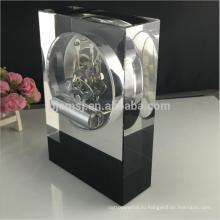 2017 новый дизайн кристалл стеклянный цифровой молитва часы настольные