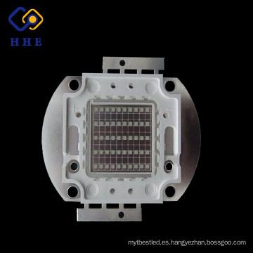 El poder más elevado de Epistar 50w IR 850-860nm llevó para la lámpara cada vez mayor de la planta