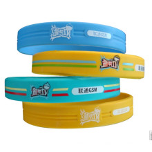 Cheap Promotional Gift Items Silicone Fashion Bangle