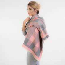 Écharpe occasionnelle de châle de Madame de coton d'écharpe faite sur commande d'usine d'écharpe