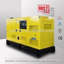 60HZ Soundproof 100kva diesel power generator with volvo engine TAD530GE 80KW electric generator set price