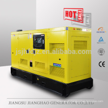 60HZ Soundproof 100kva diesel power generator with volvo engine TAD530GE 80KW electric generator set price