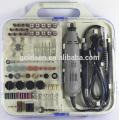 135W Portable Hobby Mini Grinder Conjunto de acessórios de ferramentas giratórias com Flex Shaft Handheld Electric 163pcs Multi Tool Kit