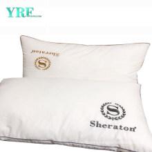 Luxury Hotel Plush Polyester Hotel Pillow Hypoallergenic Relief Migraine