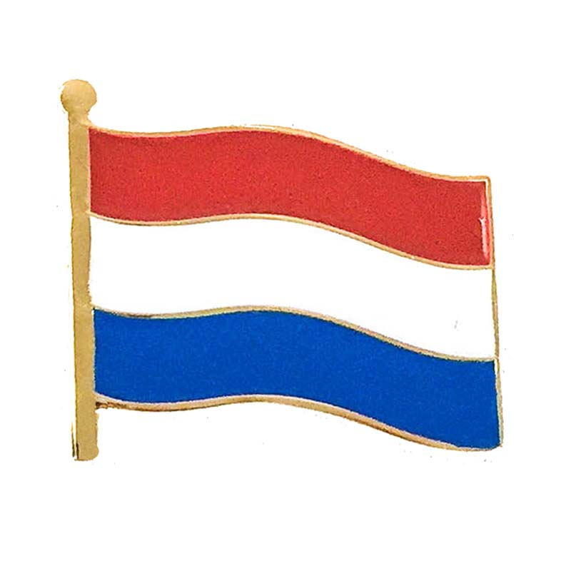 Netherlands Flag Lapel Pin