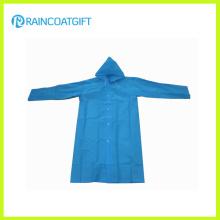 Promotion Clear Long PE Raincoat (RPE-182)
