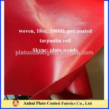 18oz truck cover tarpaulin roll made by Plato
