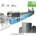 ISO CE-Norm PVC Kunststoff doppelwandiges hohlen Blatt Koextrusion Produktionslinie /Machine Überdachung