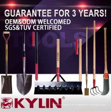Diferentes tipos de pás de mão de aço carbono para venda Digging Tools