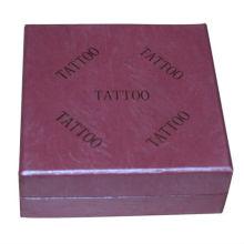Hermosa fuente de tatuaje de caja de tatuaje de papel tatoo