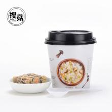 New taste freeze dried mushroom soup