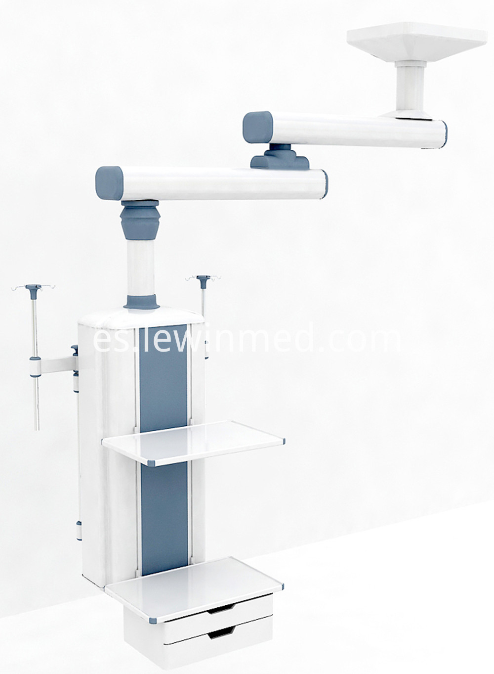 Double arm manual surgical pendant