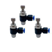Conector de válvula neumática tipo SL de montaje de plástico