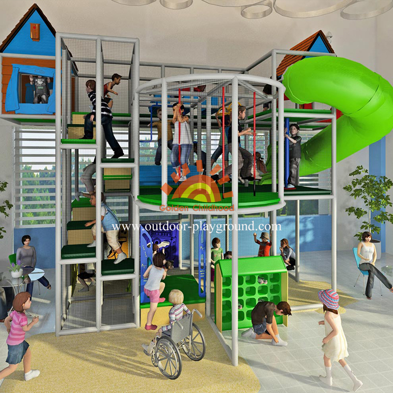 Indoor Playground Structure