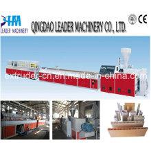 Máquina do perfil do painel do PVC / perfil que faz a máquina