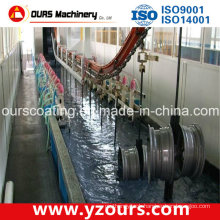 Electrophortic Painting Line with Best Spraying Machine