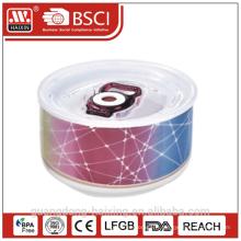 Récipient de nourriture de fraîcheur pour micro-ondes sous vide conservation porcelaine
