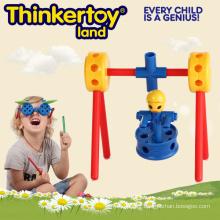 Creative Building Blocks Toy pour l'éducation préscolaire