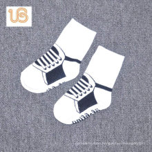 Baby Cotton Terry Sock with Anti Slip