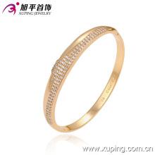 Moda Pulseira De Imitação De Jóias De Ouro 18k Elegante Com Diamante CZ 51290