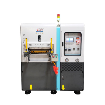 custom design heat transfer transparent tag silicone machine