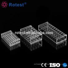 portoir acrylique pour tubes à centrifuger 0.5ml