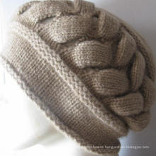 100% Cashmere Chunky Hat