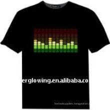 glowing t-shirt