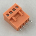 3,96 MM Pitch Orange PCB Steckbarer Anschlussblock