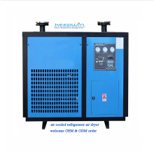 1.2m3/min 16bar Screw Air Compressor Refrigerated AIR DRYER for laser cutting machine industry