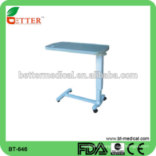 air spring adjustment ABS Over bed Table