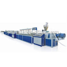 WPC / PVC Janelas e portas perfil linha de produção / linha de extrusão