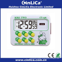 24 hours mini countdown timer buzzer with timer