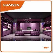 Fabricant et commerçant de cabinet de cuisine populaire de style moderne de 2016