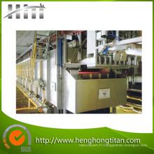Ligne de traitement de chauffage étape Type cylindre en acier