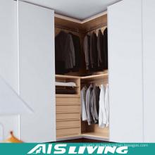 Moderna Galería de paseo de melamina blanca en el armario (AIS-W018)