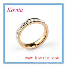 Bague de mariage en cristal à tendance en cristal 827100 bijoux mexicains en diamant naturel