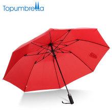 Schirme mit Logo Prints 2-fache chinesische Importe Großhandel Hochwertige winddichte 2-fach automatische Regenschirm