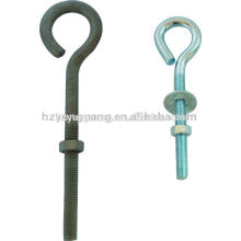 power fitting hot-dip galvanizing shank with circle eye bolt Power Hardware fitting electric lines fitting steel circuit