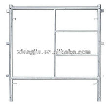 Step Frame scaffolding system two main frame two cross brace four joint pin