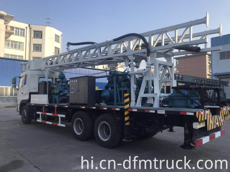 Truck Mounted Drilling Rig 7
