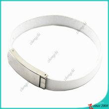 Bijoux de mode Yong Girls White Bracelet en cuir (LB)