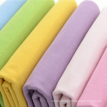 Solid Washed Crepe Cotton Fabric 100% Cotton 207GSM Fabric