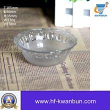 Uso diário de vidro tigela de vidro transparente tigela utensílios de cozinha Kb-Jh06073